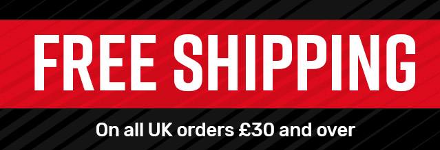 Free UK shipping on all orders £50 and over