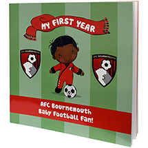 AFC Bournemouth Babies First Year Book - Baby Boy