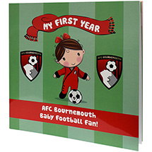 AFC Bournemouth Babies First Year Book - Baby Girl