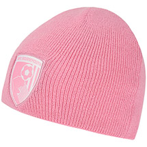 AFC Bournemouth Small Childs Beanie Hat - Pink