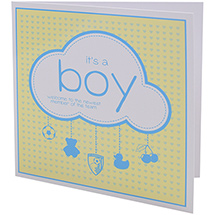 AFC Bournemouth Baby Boy Card