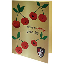 AFC Bournemouth CHERRY CARD