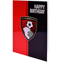 AFC Bournemouth CORE HAPPY BIRTHDAY CARD