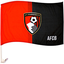 AFC Bournemouth Car Flag