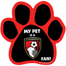 AFC Bournemouth PET CAR MAGNET
