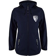 AFC Bournemouth Women's Clara Soft Shell Jacket - Navy