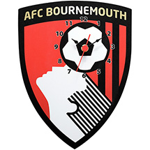AFC Bournemouth Crest Wall Clock