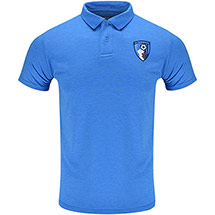 AFC Bournemouth Adults Harrison Polo Shirt - Sapphire Blue