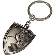 AFC Bournemouth Nickel Crest Keyring