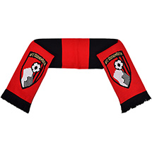 AFC Bournemouth Childrens Striped Scarf