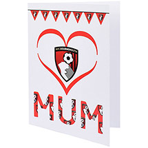 AFC Bournemouth Mum Card