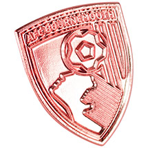 AFC Bournemouth Rose Gold Pin Badge