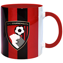 AFC Bournemouth Striped Crest Mug