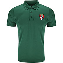 AFC Bournemouth Adults Strouden Polo Shirt - Bottle Green