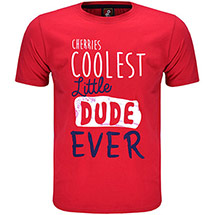 AFC Bournemouth Kids Coolest Little Dude T-Shirt - Red