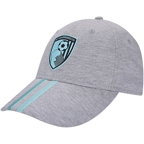 Adults Stripe Cap - Grey