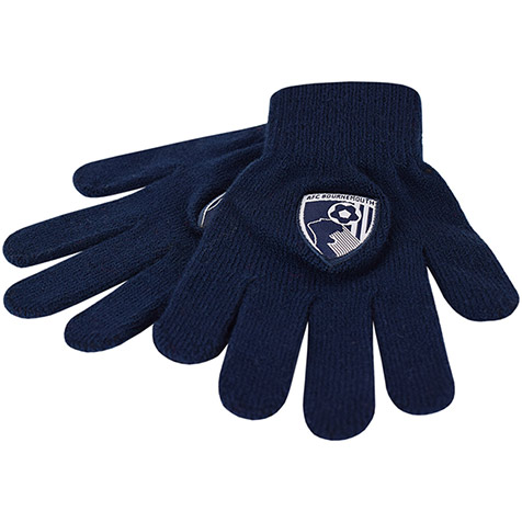 Small Childs Gloves - Navy