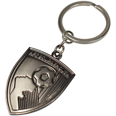 Nickel Crest Keyring