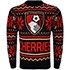 AFC Bournemouth Adults Christmas Jumper - Red