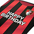 AFC Bournemouth Kit Birthday Card