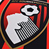AFC Bournemouth Red And Black Pennant