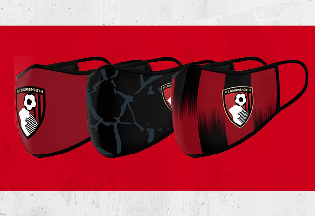 AFC Bournemouth Face Coverings Now Available