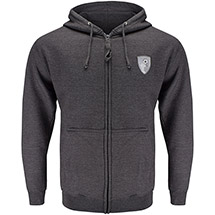 AFC Bournemouth Adults Core Zip Hoodie - Charcoal