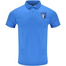 AFC Bournemouth Adults Harrison Polo Shirt - Sapphire Blue