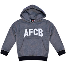AFC Bournemouth Youths Team Hoodie - Charcoal / Black