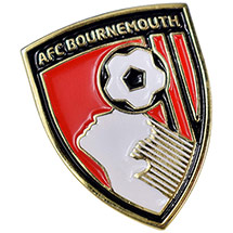AFC Bournemouth Gold Crest Pin Badge
