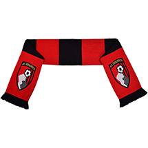 AFC Bournemouth Striped Scarf
