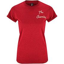 AFC Bournemouth Womens Summer T Shirt - Dark Red