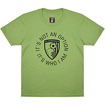 AFC Bournemouth Kids Vital T Shirt - Green