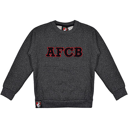AFC Bournemouth Youths AFCB Sweatshirt - Charcoal Marl