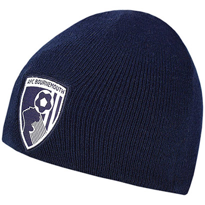 AFC Bournemouth Small Childs Beanie Hat - Navy