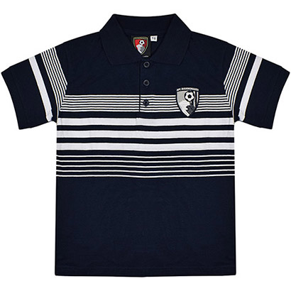 AFC Bournemouth Youths Control Polo Shirt - Navy / White