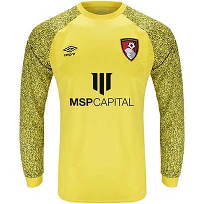 AFC Bournemouth Adults Goalkeeper Shirt 21/22 - Yellow