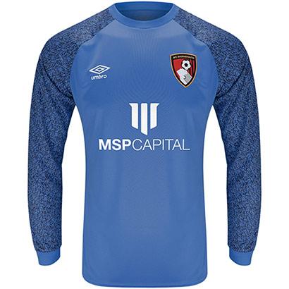 AFC Bournemouth Childrens Goalkeeper Shirt 21/22 - Cobalt blue