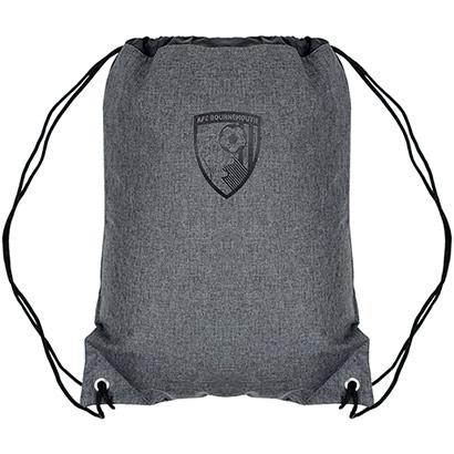 AFC Bournemouth Canvas Gym Bag - Grey