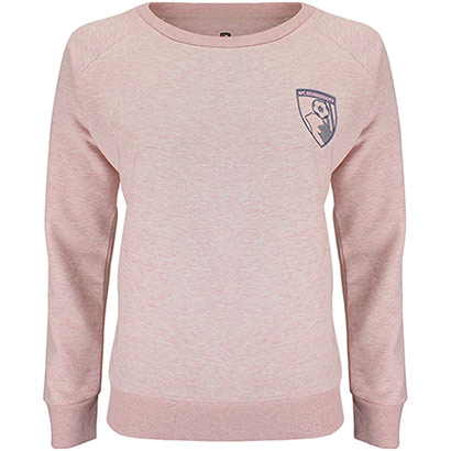 AFC Bournemouth Womens Harbour Sweater - Pale Pink Marl