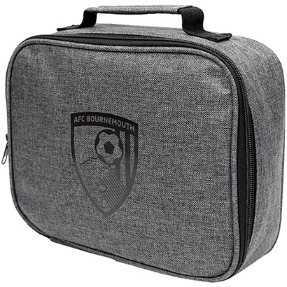 AFC Bournemouth Canvas Lunch Bag - Grey