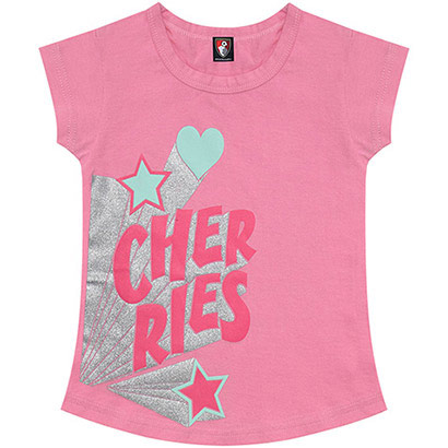 AFC Bournemouth Childrens Mika T Shirt - Pink