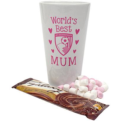 AFC Bournemouth Worlds Best Mum Latte Mug Gift Set
