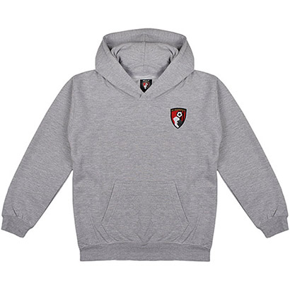 AFC Bournemouth Kids Oakwood Hoodie - Grey