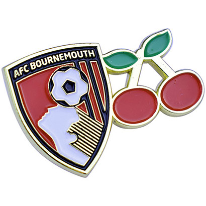 AFC Bournemouth Crest And Cherry Pinbadge