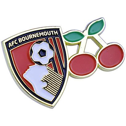 AFC Bournemouth Crest And Cherry Pinbadge