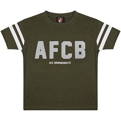 AFC Bournemouth Youths Power T Shirt - Khaki