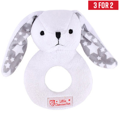AFC Bournemouth Plush Baby Rabbit Rattle