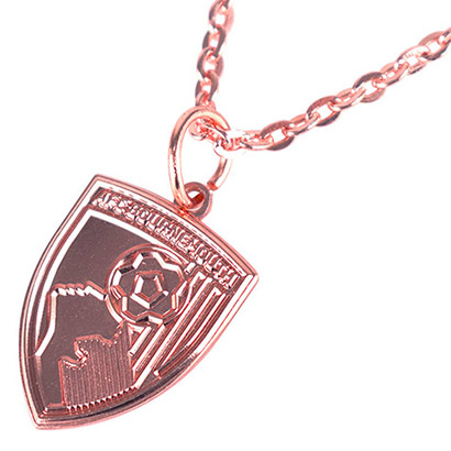 AFC Bournemouth Rose Gold Necklace And Pendant