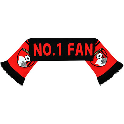 AFC Bournemouth Youths Number 1 Fan Scarf